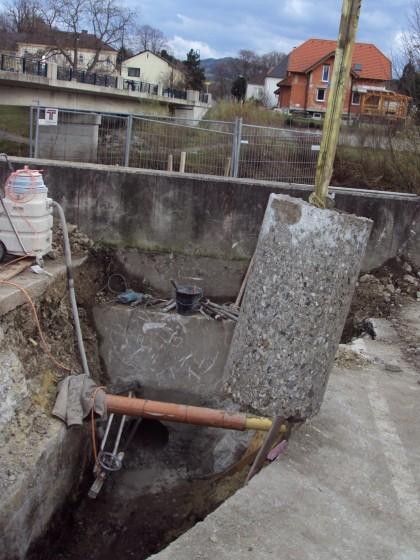 Kanalbohrung Wilhelmsburg